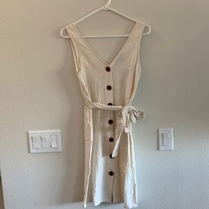 One Clothing Button Down Dress Size XS